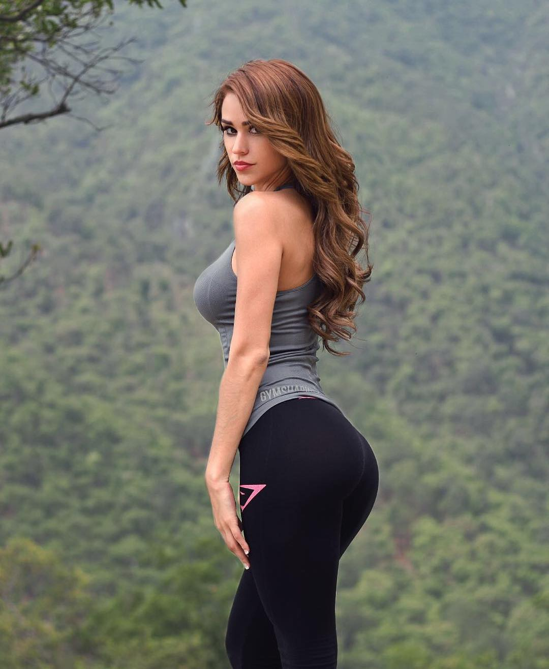 Yanet Garcia Tight Leggings