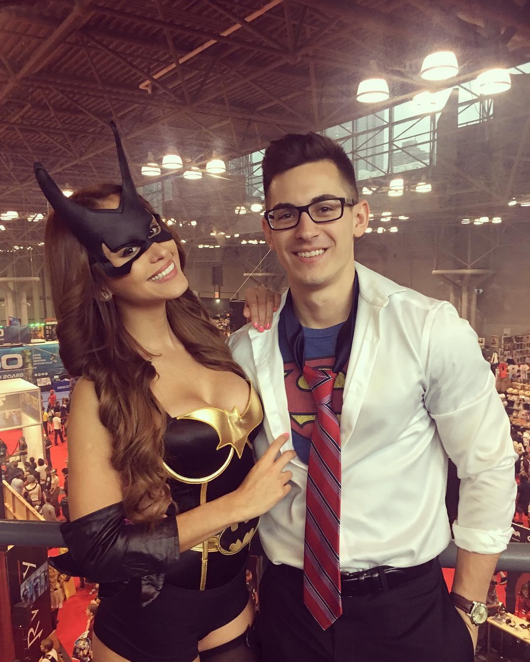 yanet Garcia Batgirl Costume 3